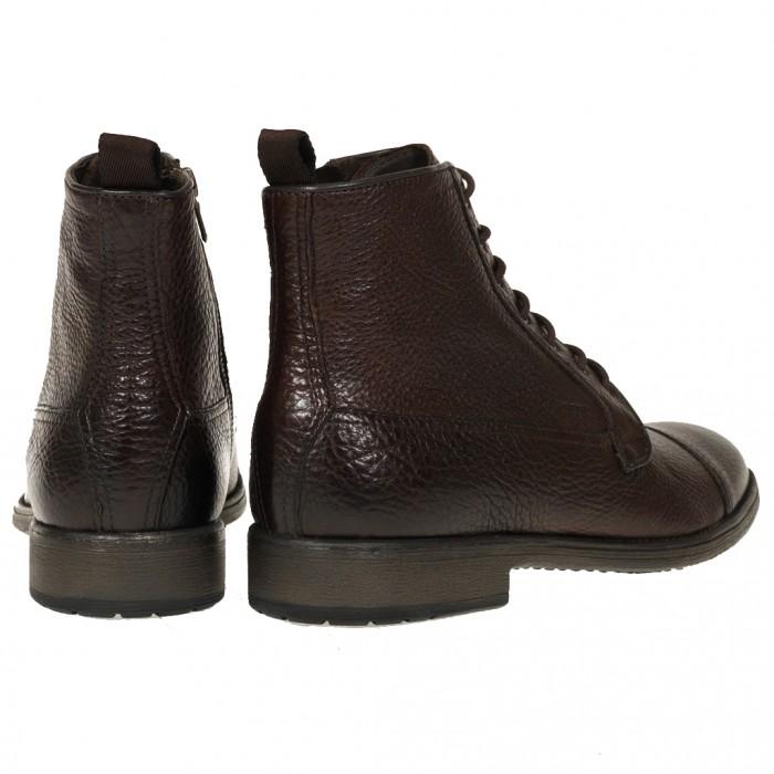 0cdde58864c Ανατομικά παπούτσια σε όλα τα μεγέθη από το gohoes.gr GEOX Μποτάκια Καφέ