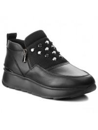 Geox Casual/SlipOn Μαύρο GENDRY D745TA 08554 C9999