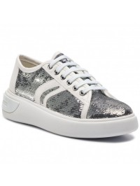 Geox Sneaker Ασημί OTTAYA D92BYE 0AT54 C0434