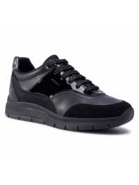 Geox Sneaker Μαύρο CALLYN D049GB 05422 C9999