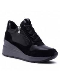 Geox Sneaker Μαύρο ZOSMA D048LB 02285 C9999
