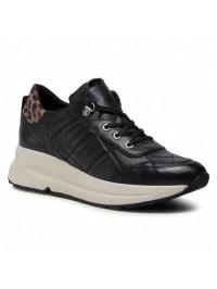 Geox Sneaker Μαύρο BACKSIE D04FLB 08507 C9BR6
