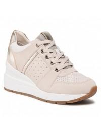 Geox Sneaker Μπεζ ZOSMA D158LA 022CL C5000
