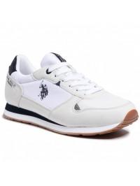 U.S. POLO Ανδρικό Sneaker Λευκό WILY