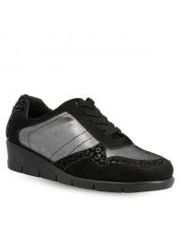 Parex Sneaker Μαύρο/Ατσαλί 10722000.B