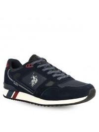 U.S. POLO Ανδρικό Sneaker Μπλε WILDE4