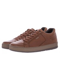 Geox Ανδρικό Casual Sneaker Καφέ ARIAM U845QD 00043 C6001
