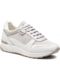 Geox Sneaker Λευκο/Γκρι AIRELL D642SC 0LY85 C0434