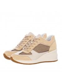 Geox Sneaker Μπεζ/Χρυσό ZOSMA D028LA 0AS22 C2217