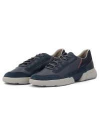 Geox Sneaker Ανδρικό Μπλε SMOOTHER U04AFA 08522 C4007