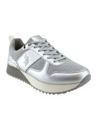 U.S. POLO Sneaker Ασημι