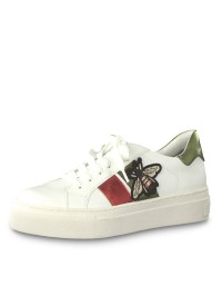 Marco Tozzi Sneaker Λευκό