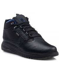 Geox Sneaker Ανδρικό Μαύρο AERANTIS U04APA 046FE C9999