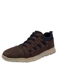 ON FOOT Ανδρικό Casual Sneaker 3005 BROWN/BLUE