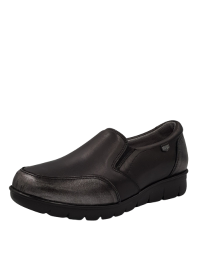 ON FOOT Casual Μοκασίνι Μαύρο 15004 BLACK