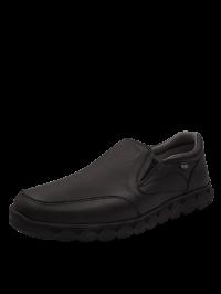 ON FOOT Ανδρικό Casual Μοκασίνι Μαύρο 603 BLACK