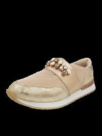 Menbur Sneaker Μπεζ Χρυσό 09448