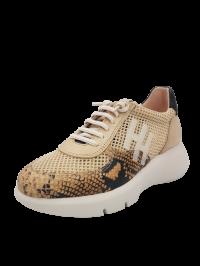 Hispanitas Sneaker Beige Snake Skin 00228