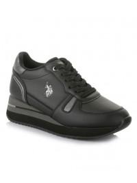 U.S. POLO Sneaker Μαύρο SYLVI CLUB