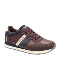 U.S. POLO Ανδρικό Sneaker Μπορντό JASON1