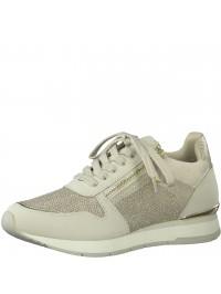 Tamaris Sneaker Μπεζ Χρυσό 1-23603-26 430