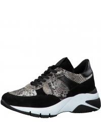 Tamaris Sneaker Black Snake 1-23782-25 015