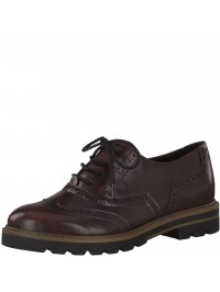 Marco Tozzi Oxford/Casual Μπορντό 2-23700-35 515