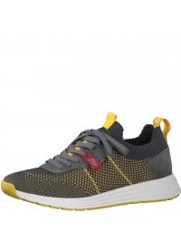 S.Oliver Sneaker Γκρι Κίτρινο 5-13603-26 271