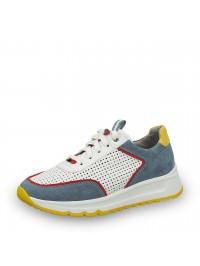 Jana Sneaker Λευκό Πολύχρωμο 8-23763-26 840